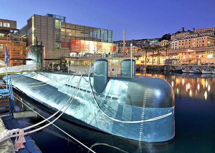 galata museo del mare sottomarino